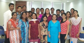 Participants from HDFC Bank, Goa