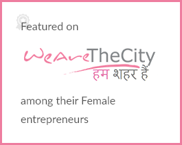 Featured on We Are The City among their Female entrepreneurs