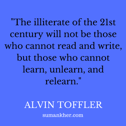 Alvin Toffler quote
