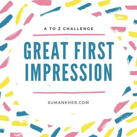 G for Gr8 impression