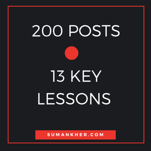 13 Lessons post