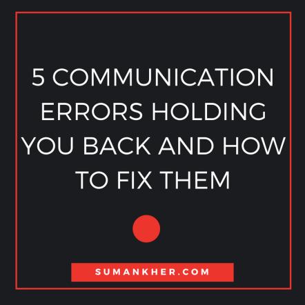 5 commn errors